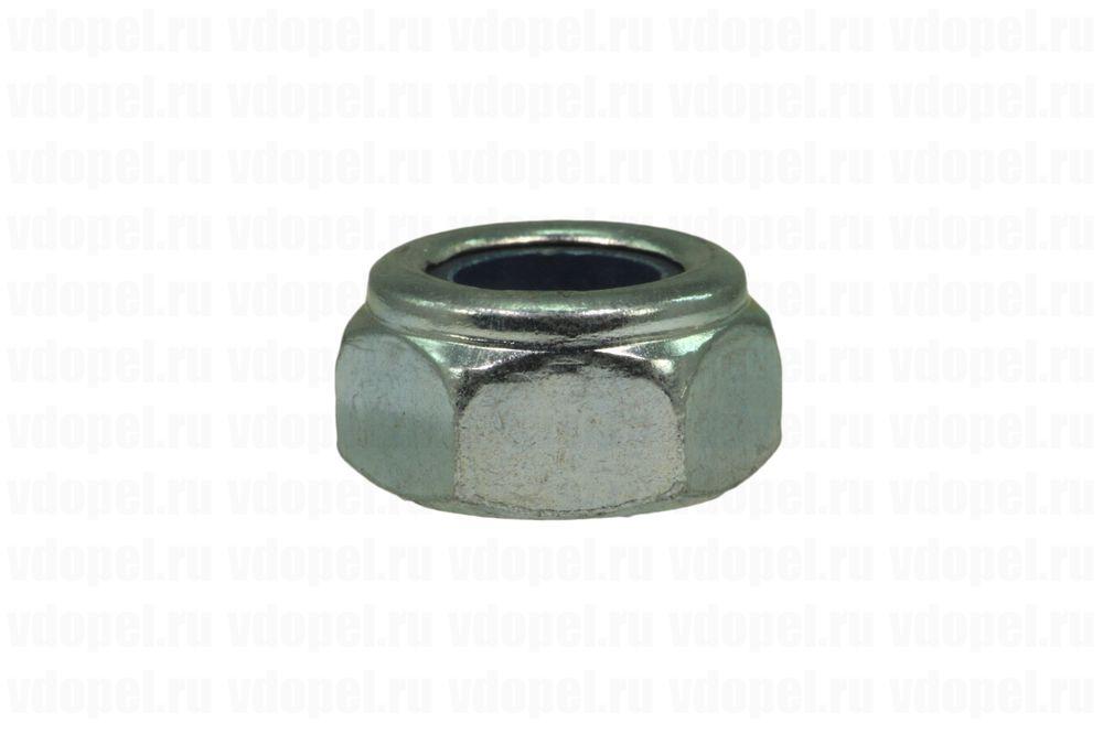 Крепеж ГайкаМ10  - Гайка M10 (самостопор., сталь 8)