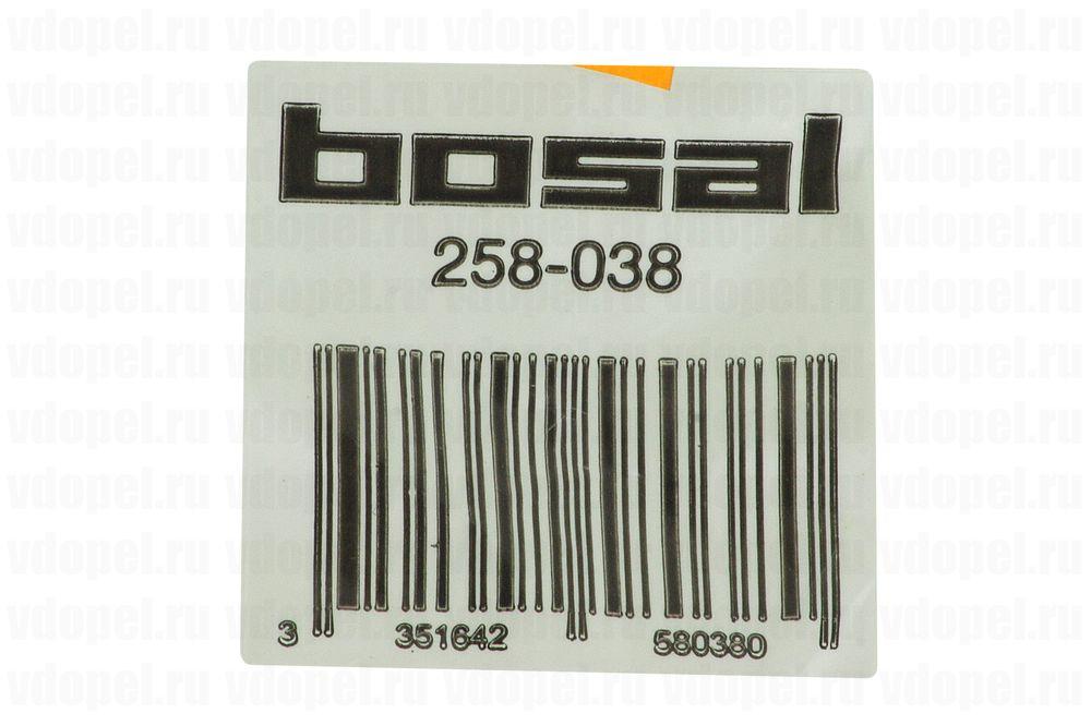 BOSAL 258038  - Гайка приёмной трубы. М8