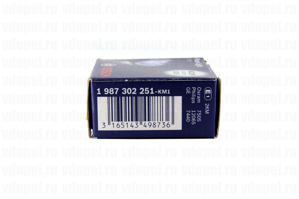 BOSCH 1987302251  - Лампа 12V-21W W21W