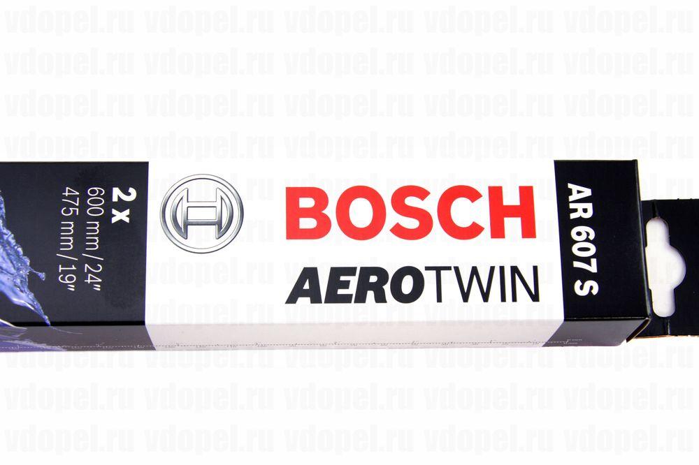BOSCH 3397118909  - Щётка стеклоочистителя. (60см) Вектра C, Омега В, Сигнум, Orlando, Malibu (комплект 2шт.) бескаркасные