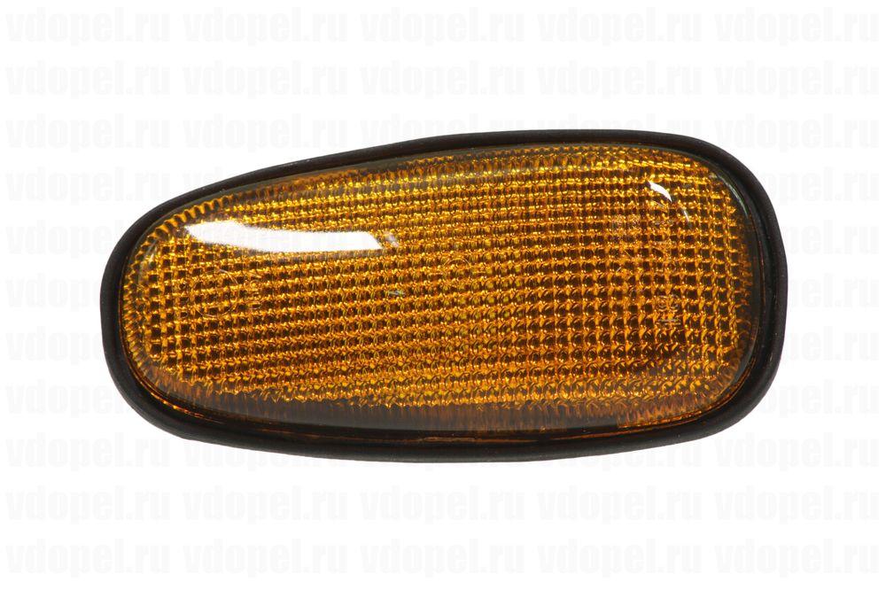 DELLO 013017130011A  - Повторитель поворота боковой. Астра G -W (желтый)