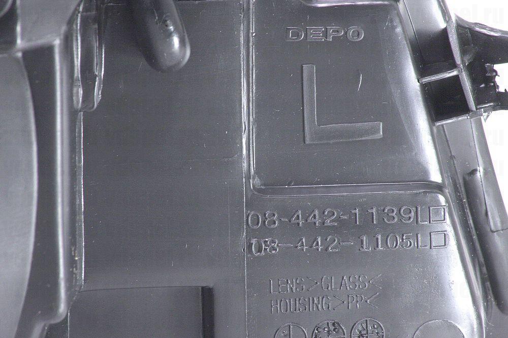 DEPO 4421105LLDEM  - Фара Вектра 88-92 мех/электр. лев.