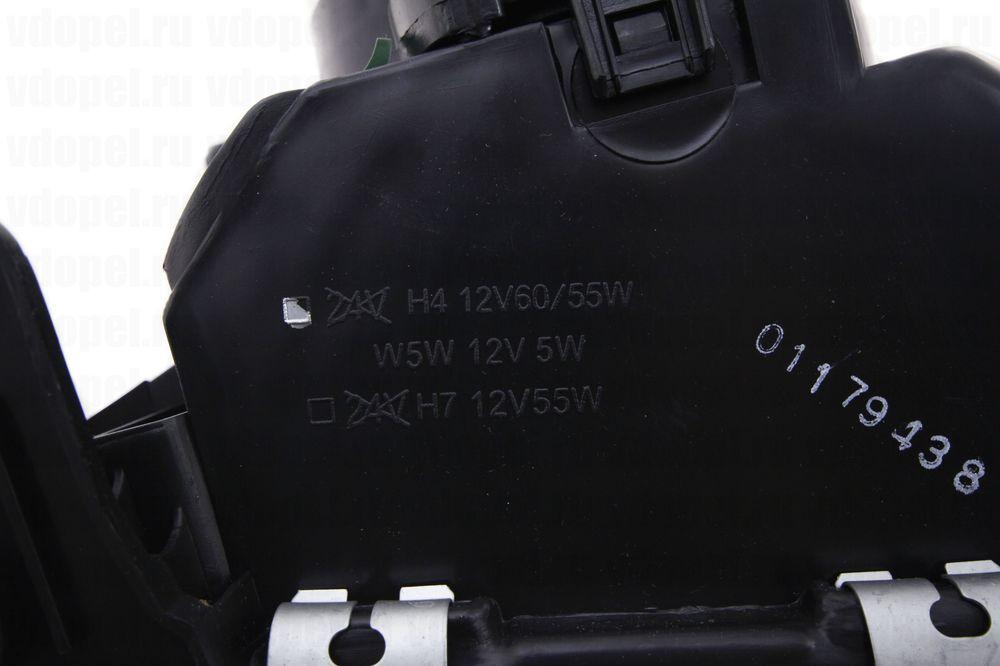 DEPO 4421107LLDEM  - Фара Вектра 92- мех/электр. лев.