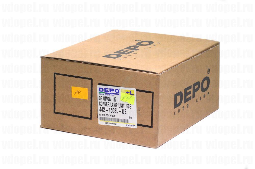 DEPO 4421508LUE  - Поворотник. Омега А -90 лев.