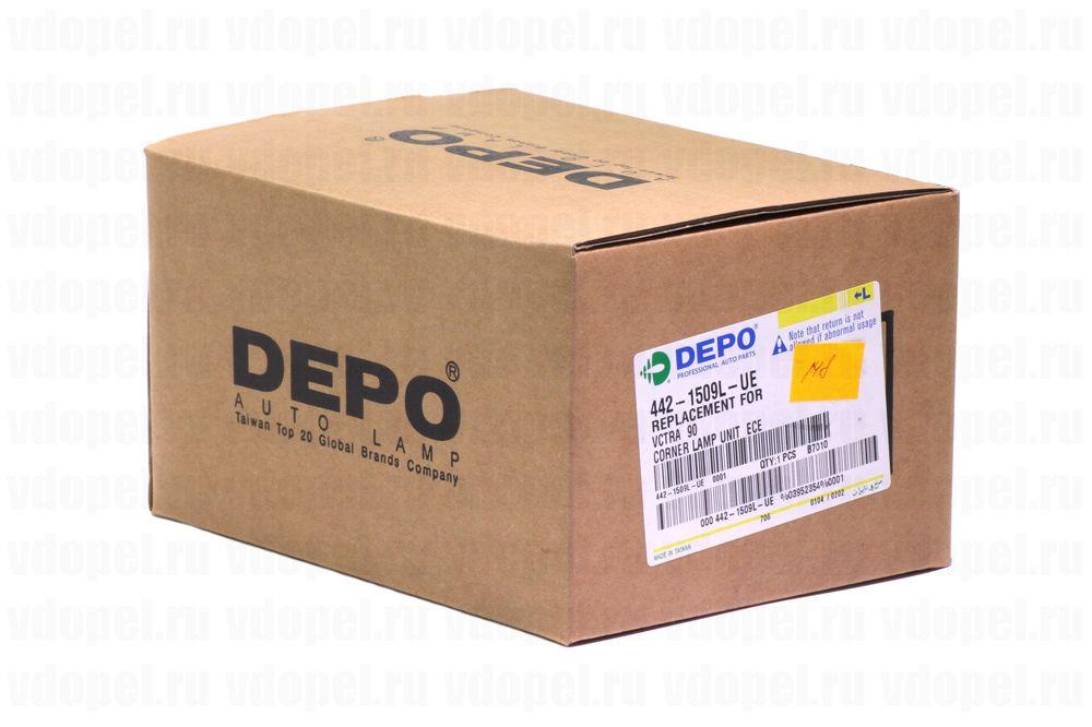 DEPO 4421509LUE  - Поворотник.Вектра 88-92 (белый) лев.