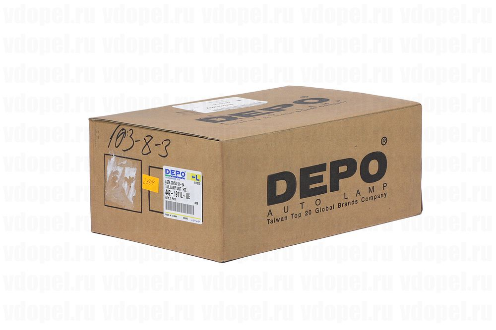 DEPO 4421911LUE  - Фонарь задний Астра F х/б. 91- DEPO лев.