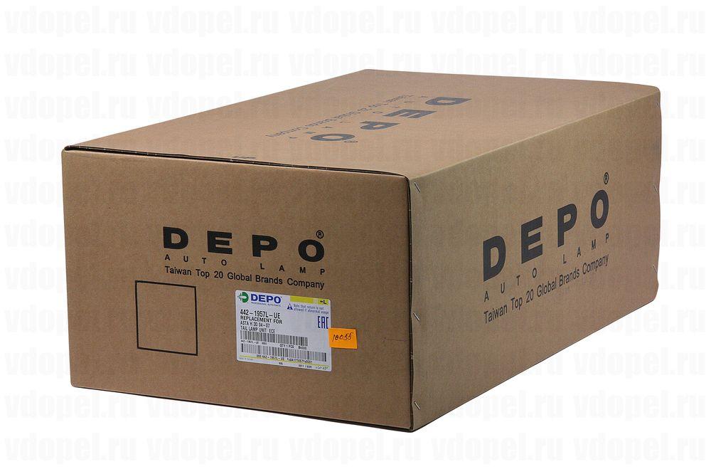 DEPO 4421957LUE  - Фонарь задний Астра H 3дв. х/б лев. DEPO