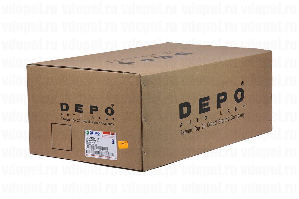 DEPO 4421957RUE  - Фонарь задний Астра H 3дв. х/б прав. DEPO