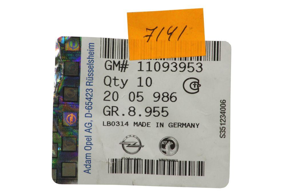 GM 11093953  - Болт М6x30