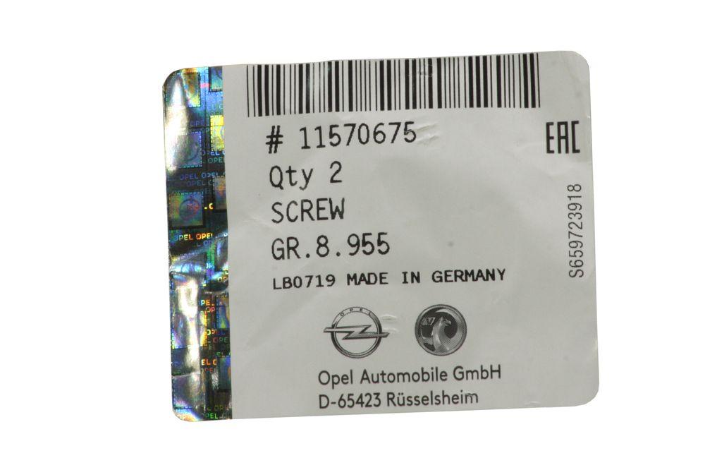 GM 11570675  - Болт М12x55 перед. ступицы.