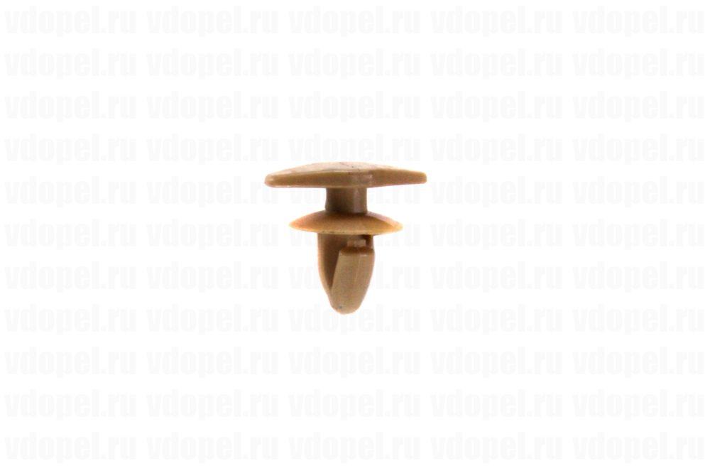 GM 11611343  - Клипса крепления уплотнителя. Астра J, Зафира С, Инсигния. (жёлтая).