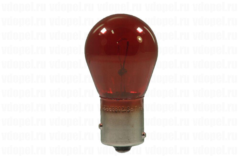 GM 12767403  - Лампа 12V-21W красная PR21W