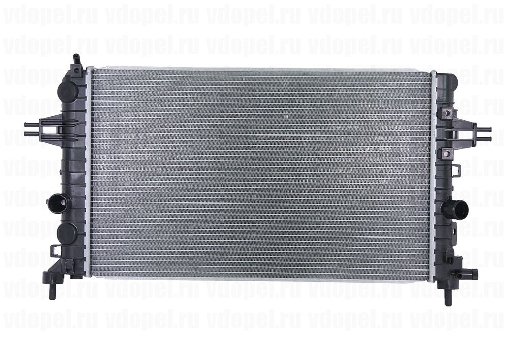 GM 13145211  - Радиатор. Астра H, Зафира В Z16XEP/XER, Z18XER (мех.)