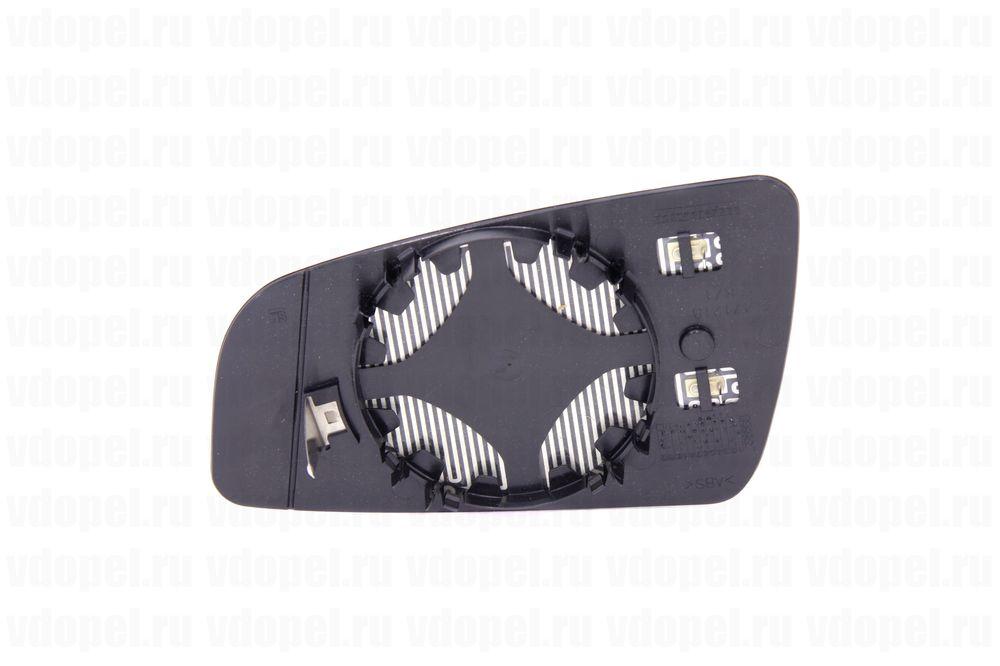 GM 13162275  - Зеркальный элемент Зафира В -09 с платформой и подогревом прав. GM