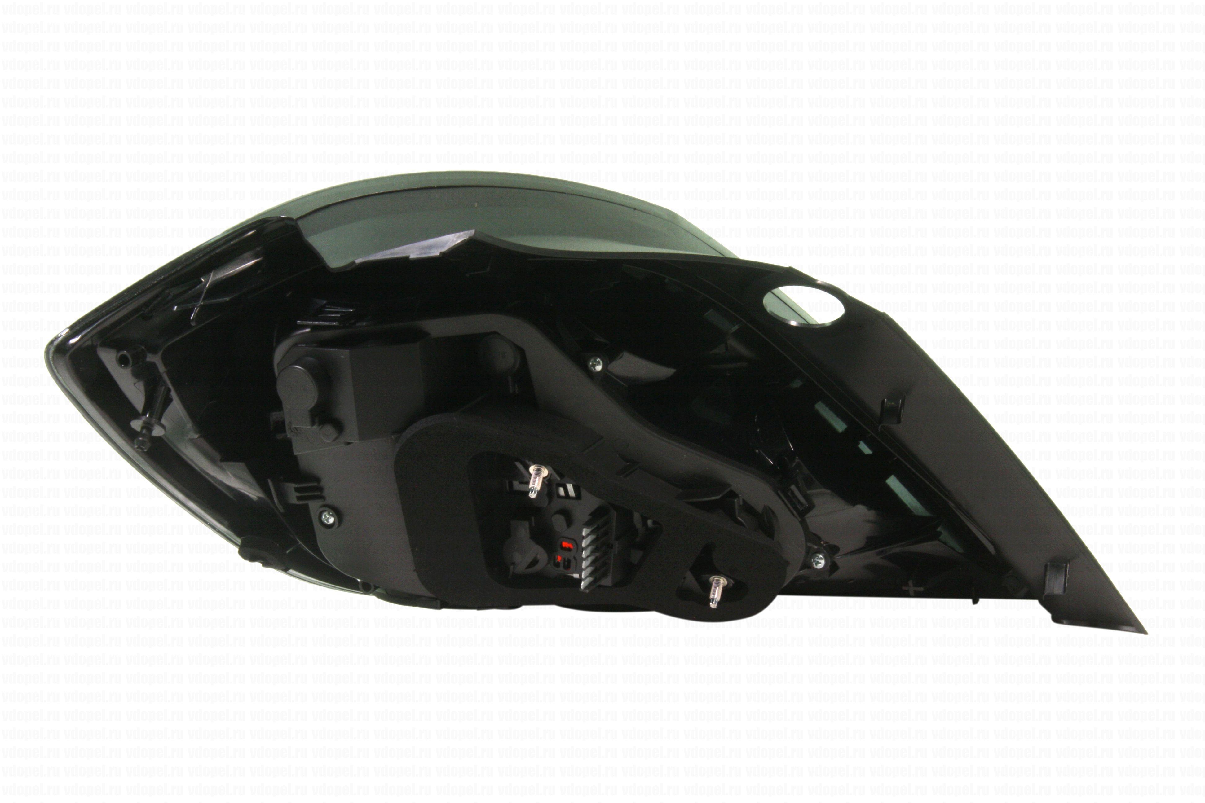 GM 13222325  - Фонарь задний Астра H 5дв. х/б 2007- GM прав.