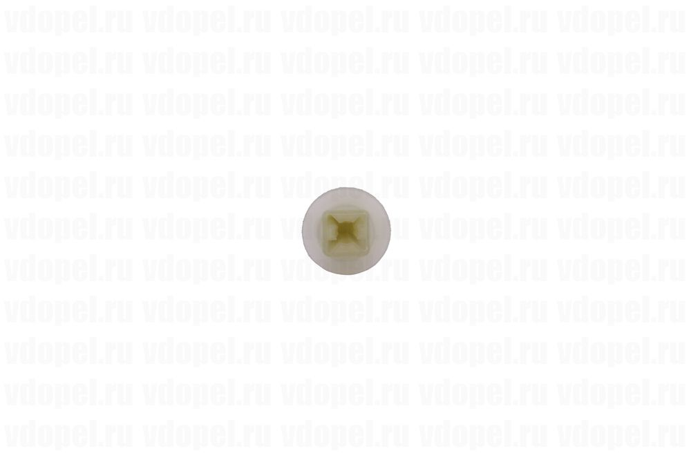GM 13240067  - Клипса крепления решётки радиатора. Астра Н, Зафира В. (гнездо под саморез)
