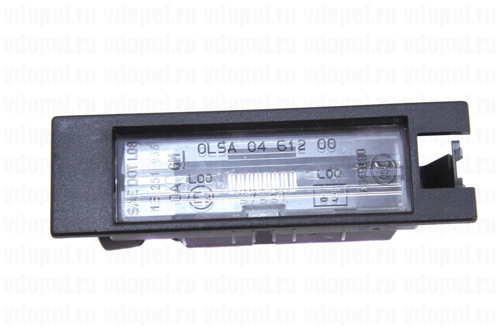 GM 13251936  - Осветитель номерного знака. Астра HJ, Вектра С, Инсигния, Корса D.