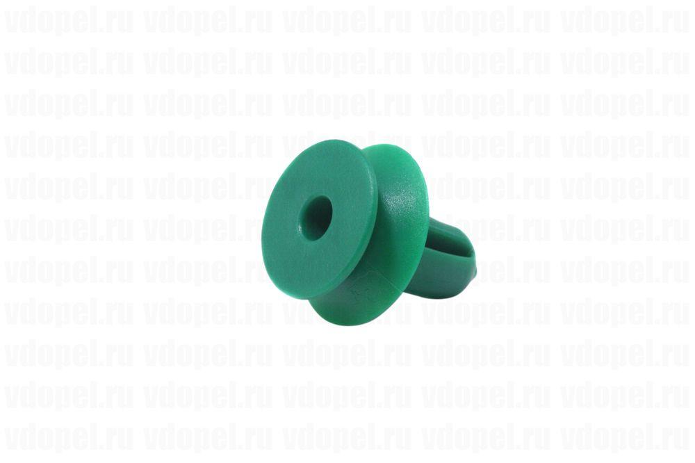 GM 13252119  - Клипса крепления отделки. Астра J, Зафира C, Инсигния, Мерива В. 14мм. (зелёная)