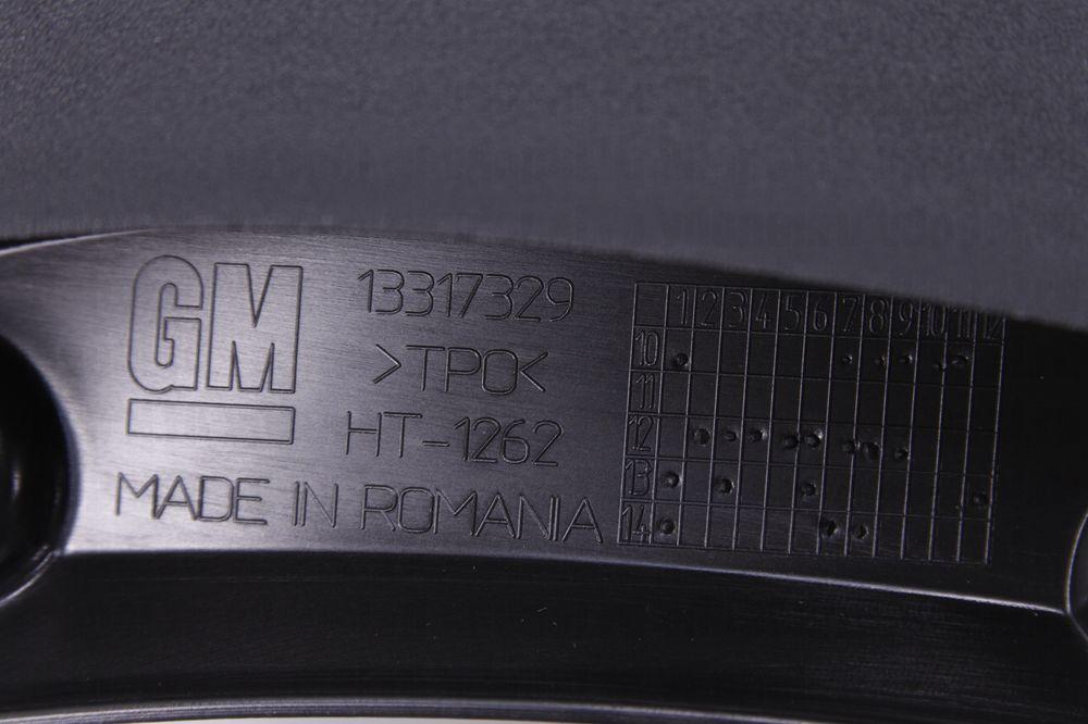 GM 13317329  - Брызговики задние Астра J караван. GM (комплект)