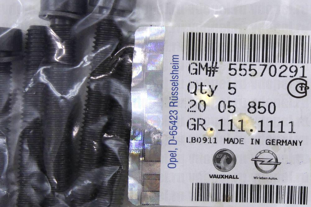 GM 55570291  - Болт М8x61 ролика ГРМ. GM