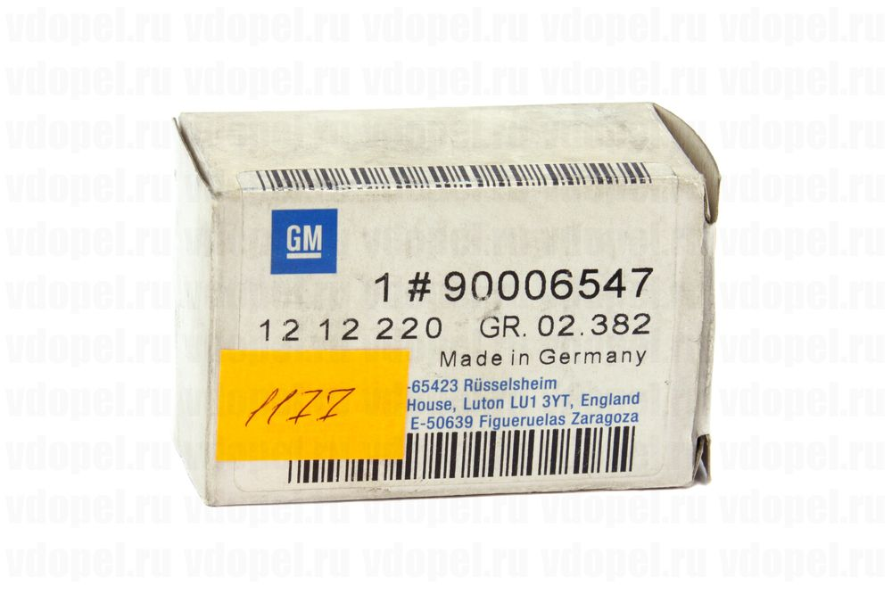 GM 90006547  - Бегунок распределителя зажигания. Омега А, Сенатор В. C2.6NE, C3.0NE, SE, LE. GM