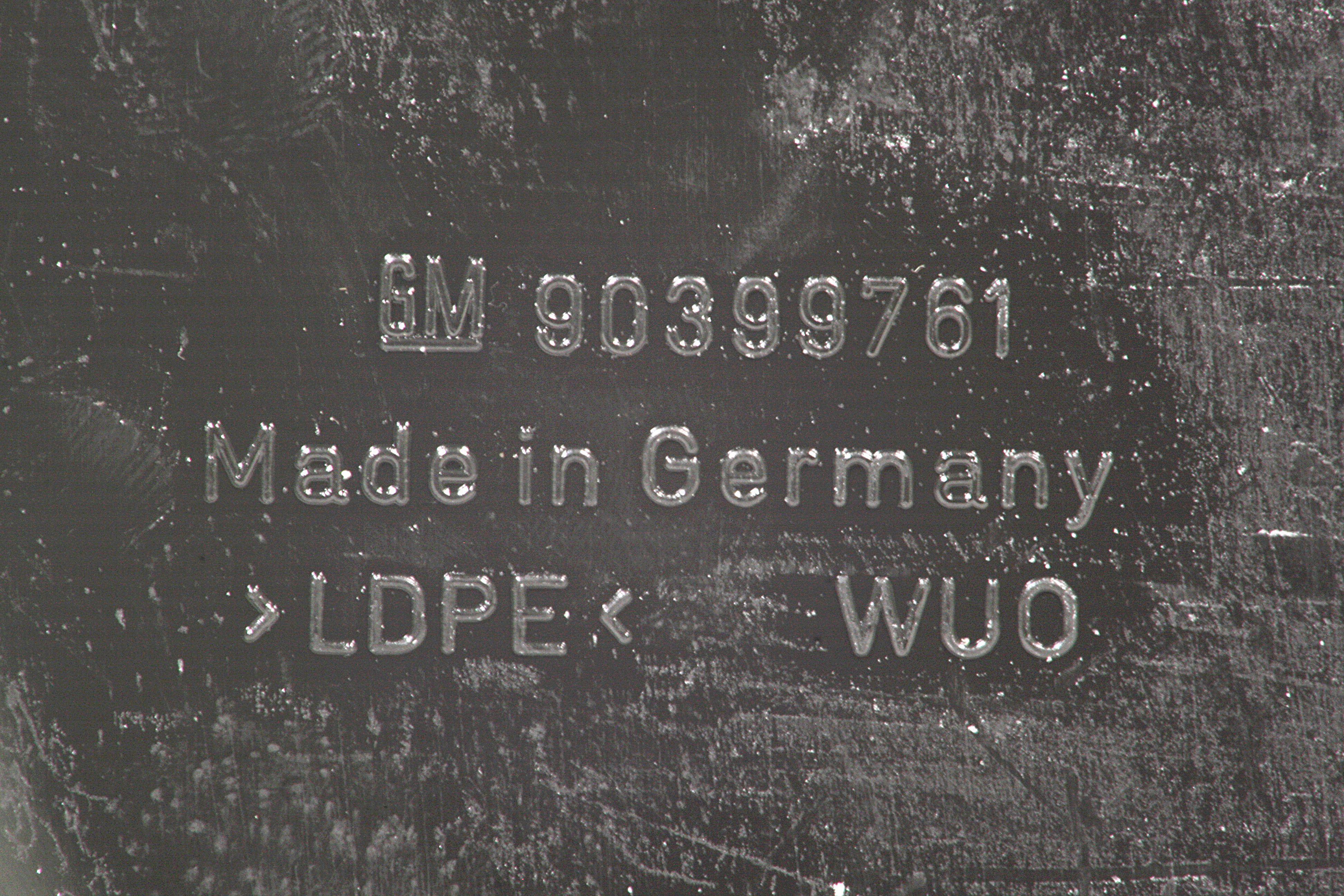GM 90399761  - Брызговики задние Омега В седан. (комплект)