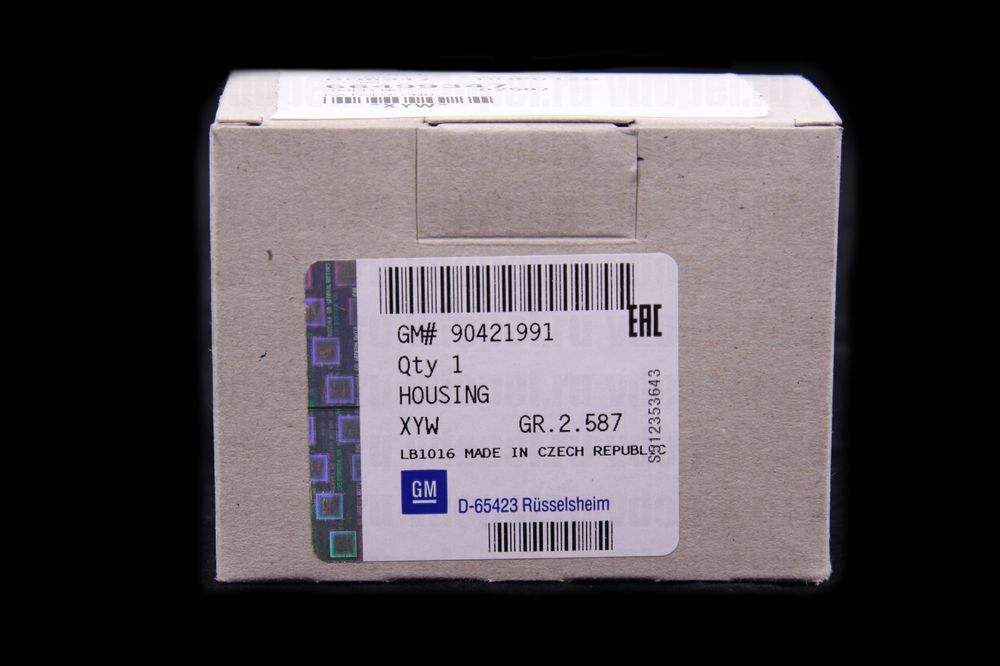 GM 90421991  - Осветитель номерного знака.Астра F.