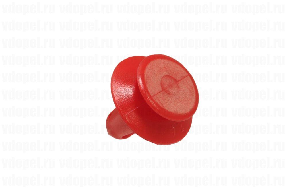 GM 90457899  - Клипса крепления дверной обшивки. Красная.