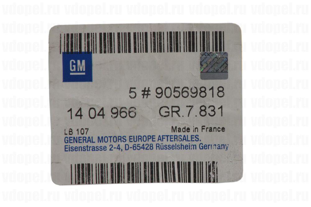 GM 90569818  - Заклепка кузова. 12мм