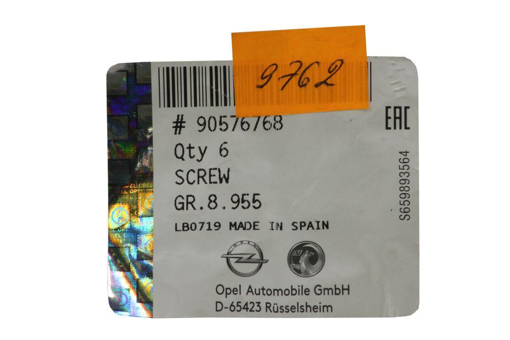 GM 90576768  - Болт М10x50 перед. рычага