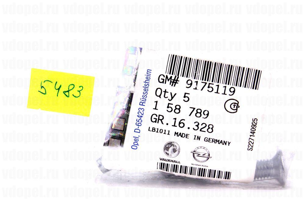 GM 9175119  - Винт М8х23
