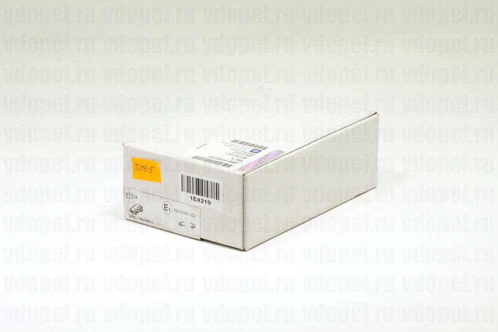 GM 9195147  - Колодки задние дисковые Астра G, Зафира A. (система BOSCH) GM