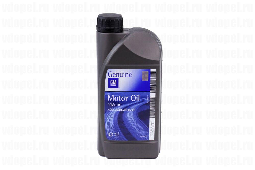GM 93165213  - Масло моторное полусинтетическое. 10W-40 API-SJ/CF (1л.)