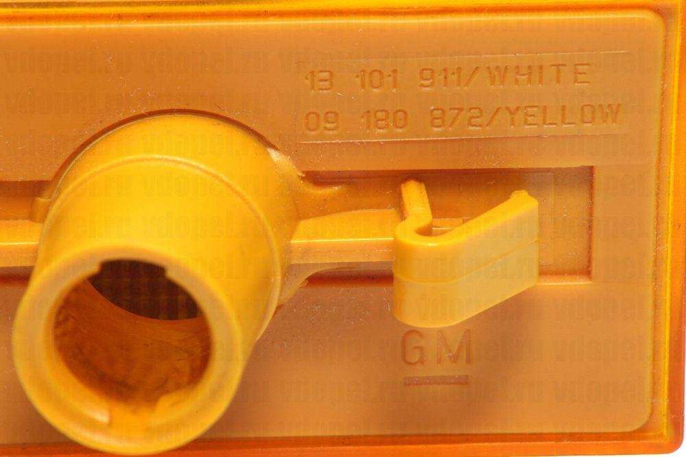 GM 93171639  - Повторитель поворота боковой. Вектра C, Сигнум лев. (желтый) GM