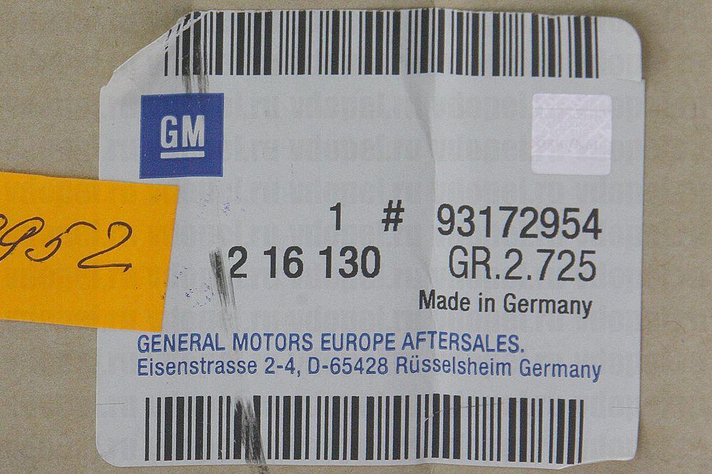 GM 93172954  - Фара Вектра C, Сигнум -05 темн. прав.