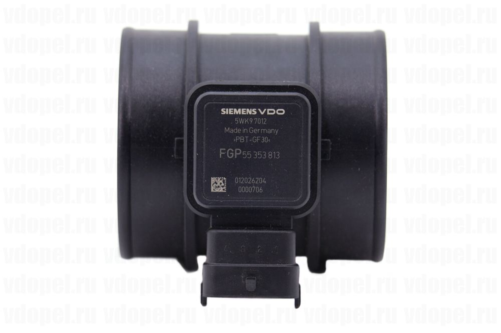 GM 93185443  - Расходомер воздуха. Z18XER (VDO) 5WK97012Z. GM