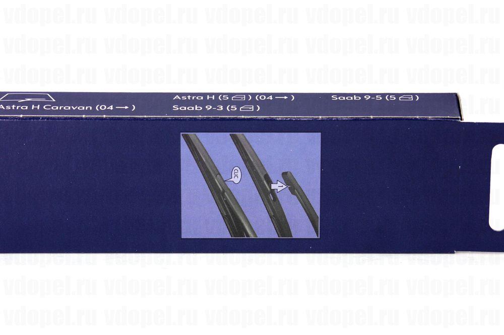 GM 93189239  - Щётка стеклоочестителя задняя. (30см) Астра H. 5 дв. х\\б, универсал. GM