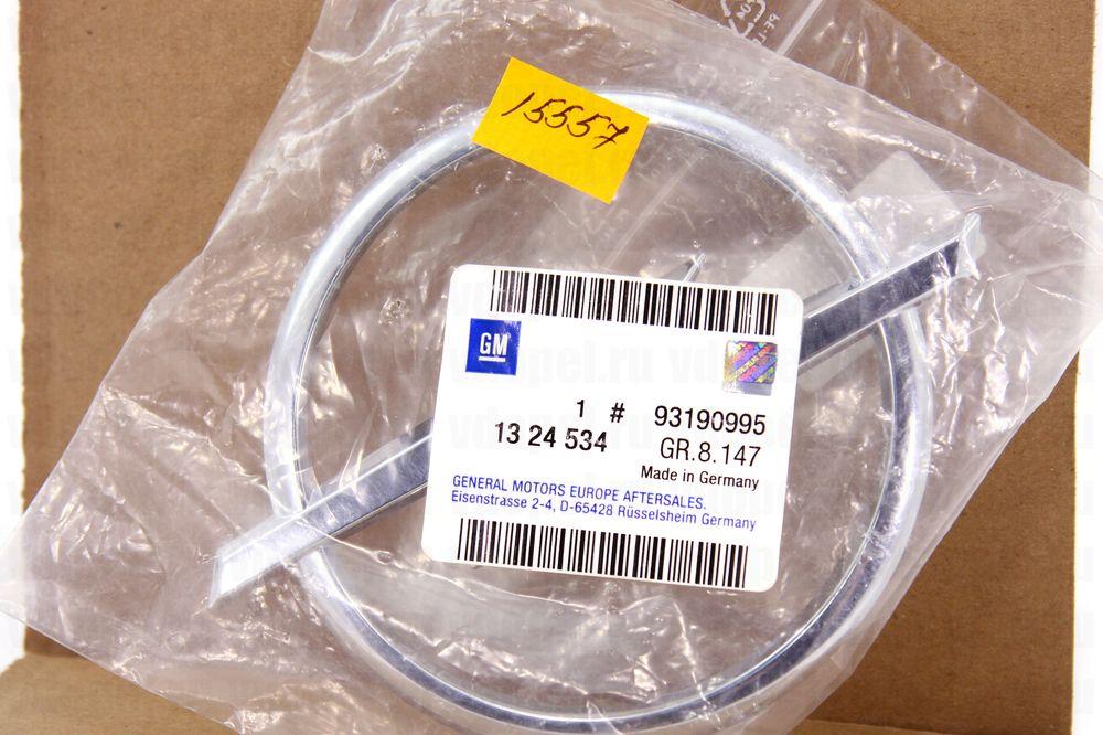 GM 93190995  - Эмблема на решётку Корса D