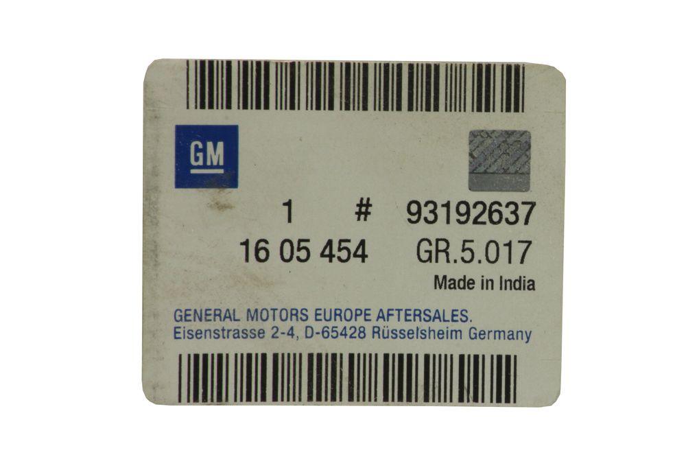 GM 93192637  - Колодки передние Астра, Вектра, Кадет, Калибра. Омега. GM