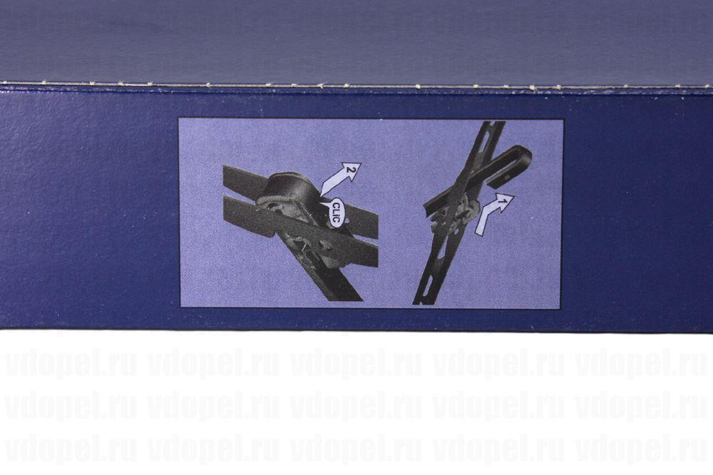 GM 93195944  - Щётка стеклоочистителя. Астра G (комплект 2шт.)  GM