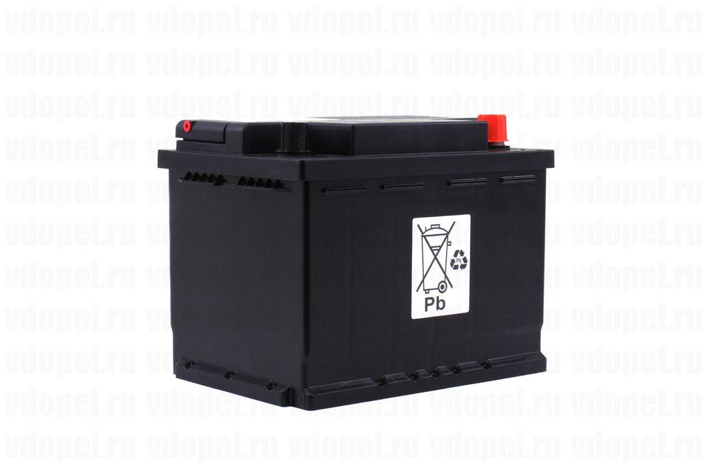 GM 95492105  - Аккумулятор 12V60Ah, 438 CCA EN, 525 CCA (SAE)  240x175x190 Антара,Мокка