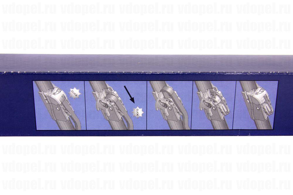 GM 95508197  - Щётка стеклоочистителя. Инсигния, Cruze (комплект 2шт.) бескаркасные