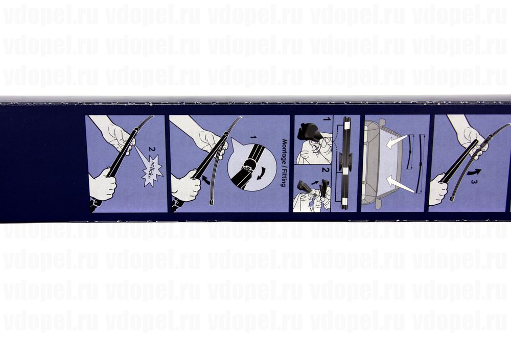 GM 95516016  - Щётка стеклоочистителя. Зафира B (комплект 2шт.)  (700мм+550мм) GM