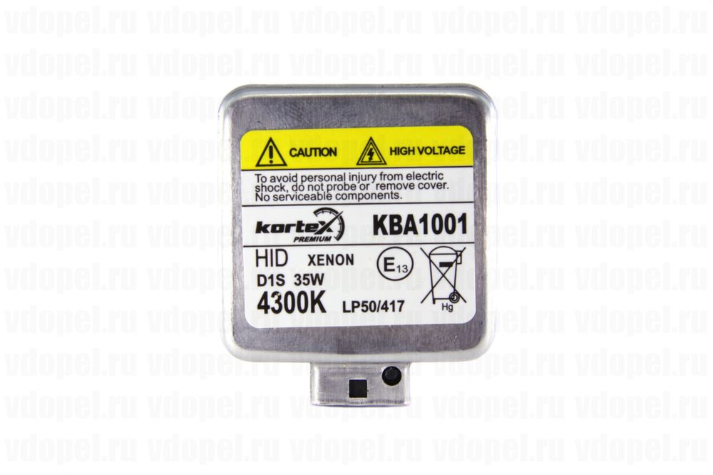KORTEX KBA1001  - Лампа фары. 35W D1S ксенон 4300K