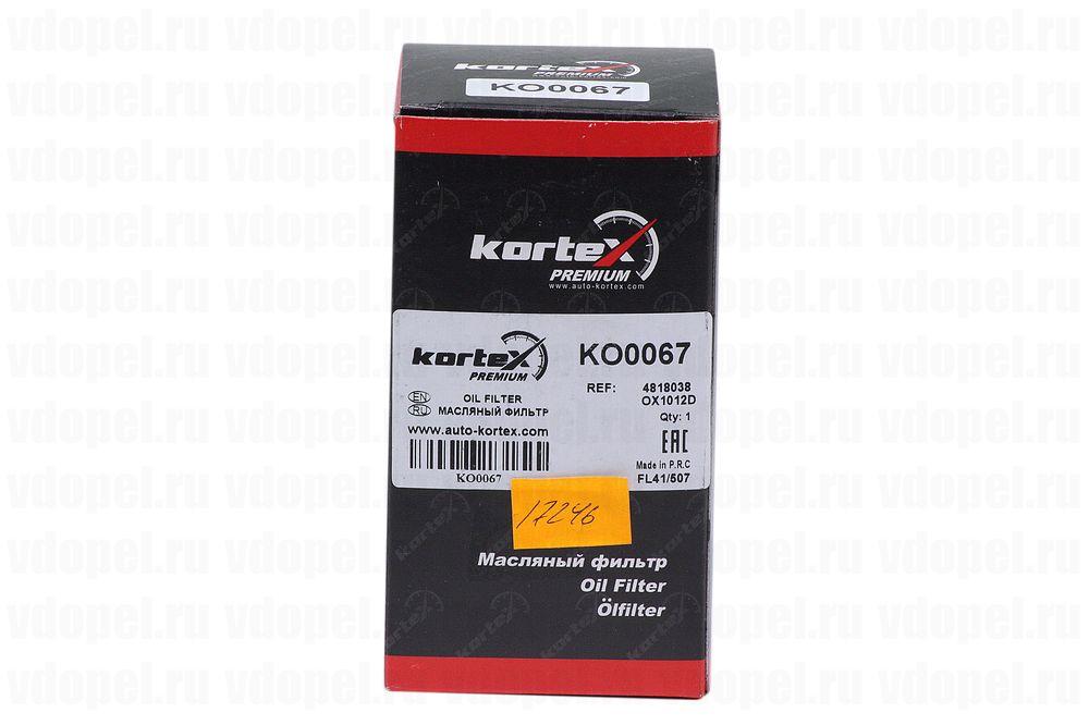 KORTEX KO0067  - Фильтр масляный A22DM Антара