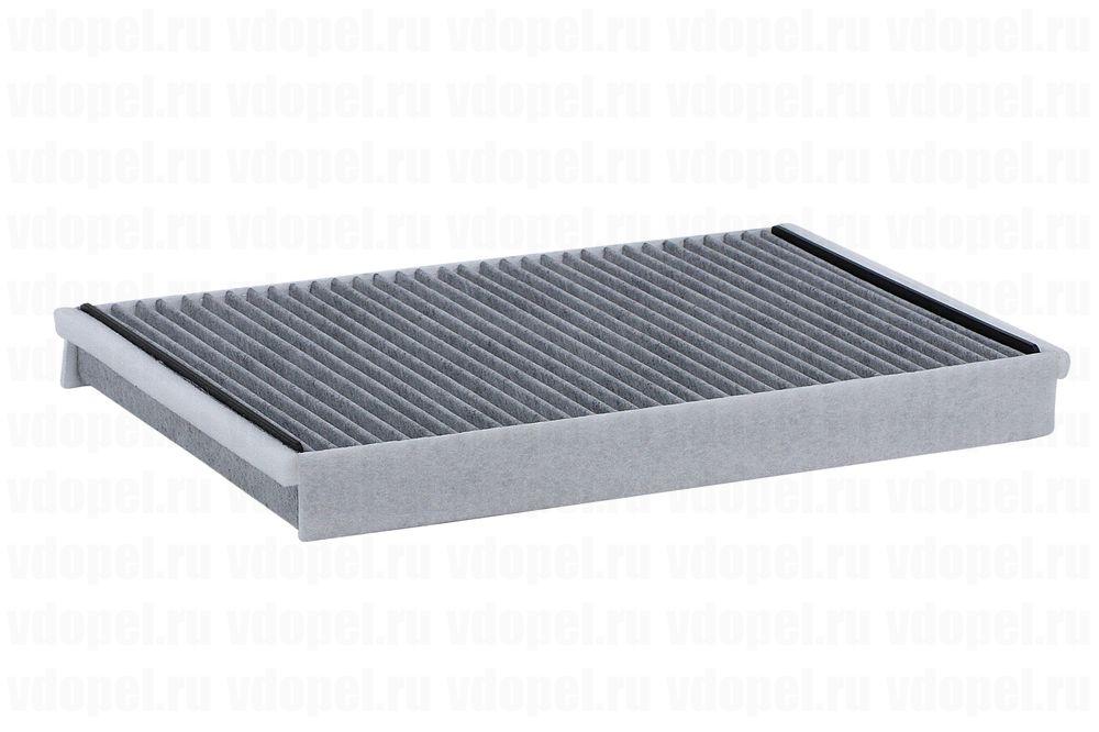 KS 50013936  - Фильтр вентиляции салона Астра G,H. (прямоугольный) Тип Delphi угольный