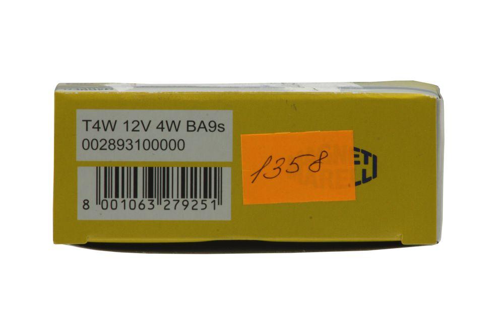 M.MARELLI 002893100000  - Лампа габаритного освещения T4W