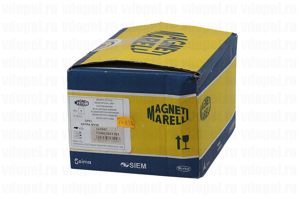M.MARELLI 714021641701  - Фонарь задний Астра J 5дв. лев. (на дверь)