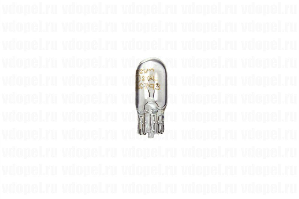 OSRAM 2825  - Лампа. W5W безцокольная. (OSRAM)