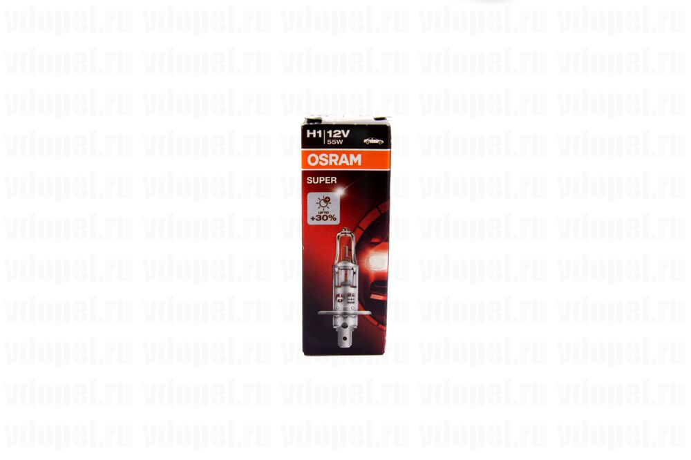 OSRAM 64150SUP  - Лампа фары. 55W H1 Megalight на 30% ярче